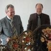 Landrat Georg Huber und Dr. András Varsányi
